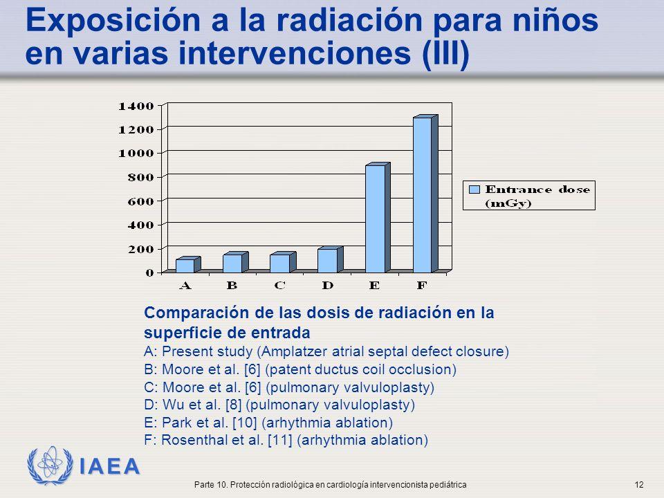 IAEA International Atomic Energy Agency Consideraciones sobre el equipo de rayos X
