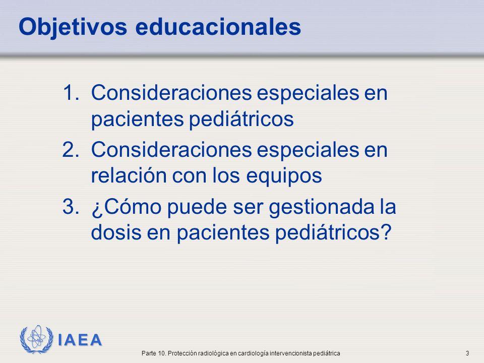 IAEA Consideraciones especiales en la exposición a las radiaciones de los niños 1.Los niños son considerablemente más sensibles a la radiación que los adultos.