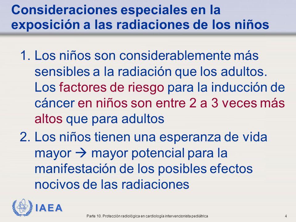 IAEA Parte 10. Protección radiológica en cardiología intervencionista pediátrica5
