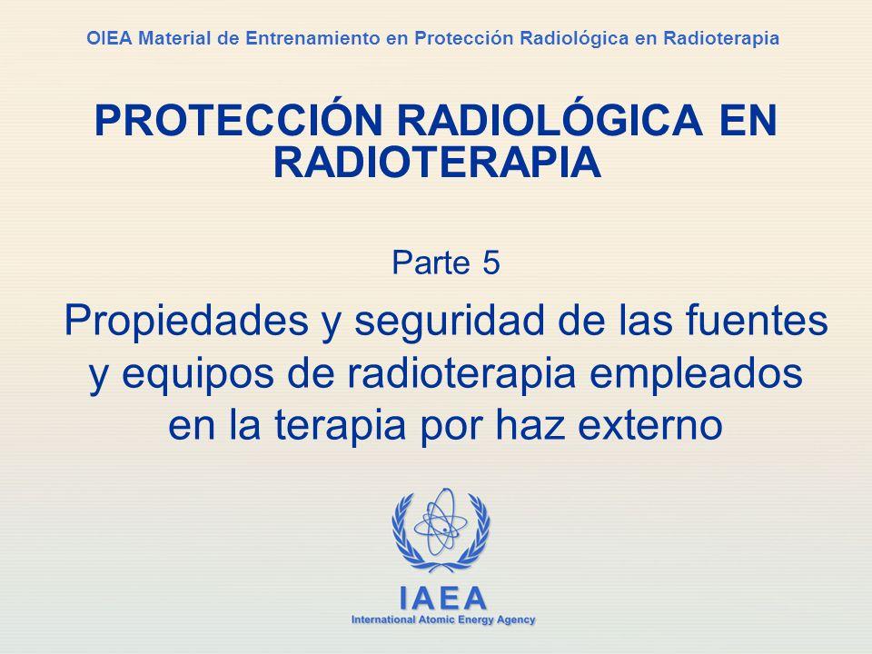 IAEA Parte 5. Radioterapia por haz externo / Conferencia 1. Técnicas42 Cuña física