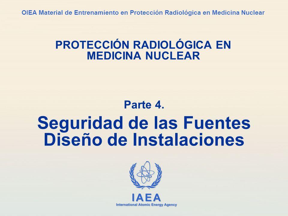 IAEA International Atomic Energy Agency OIEA Material de Entrenamiento en Protección Radiológica en Medicina Nuclear PROTECCIÓN RADIOLÓGICA EN MEDICIN
