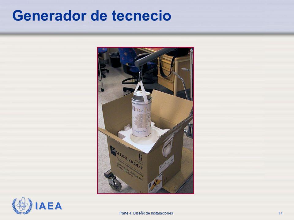 IAEA Parte 4. Diseño de instalaciones14 Generador de tecnecio