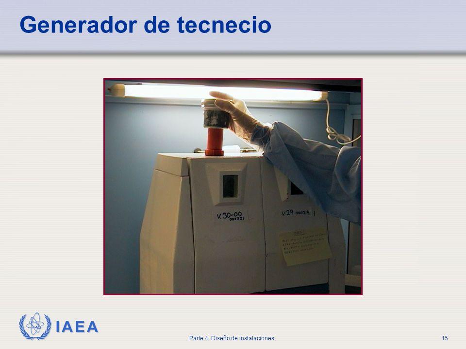 IAEA Parte 4. Diseño de instalaciones15 Generador de tecnecio