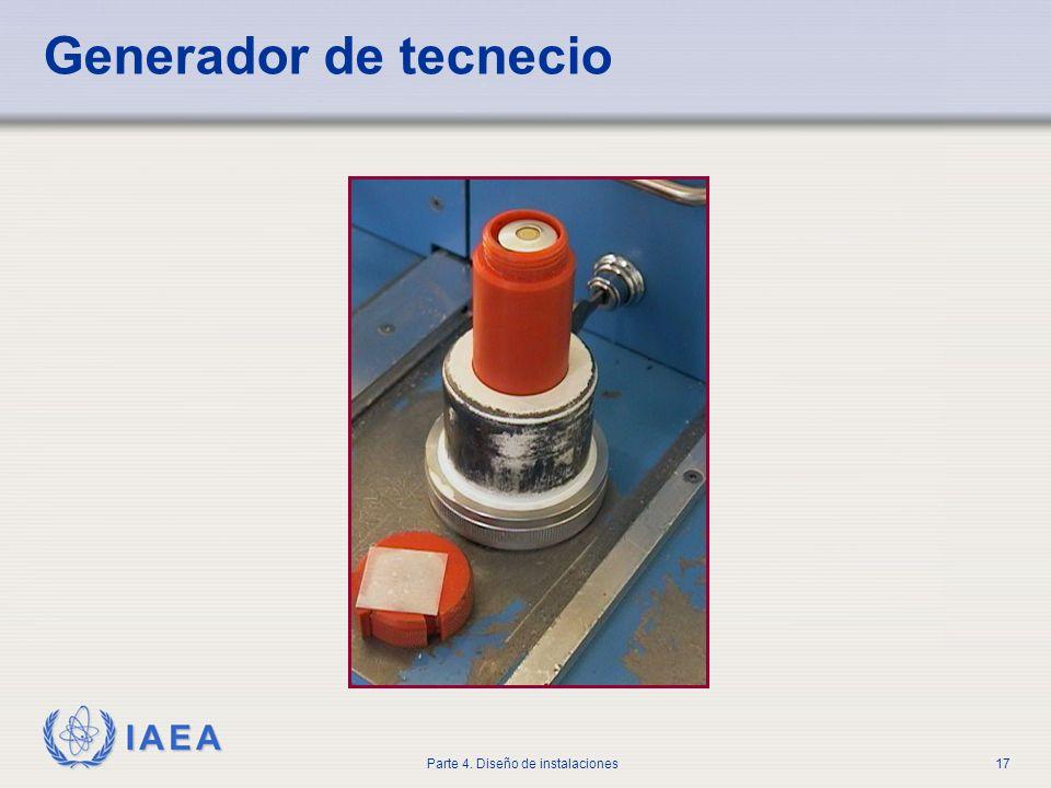 IAEA Parte 4. Diseño de instalaciones17 Generador de tecnecio