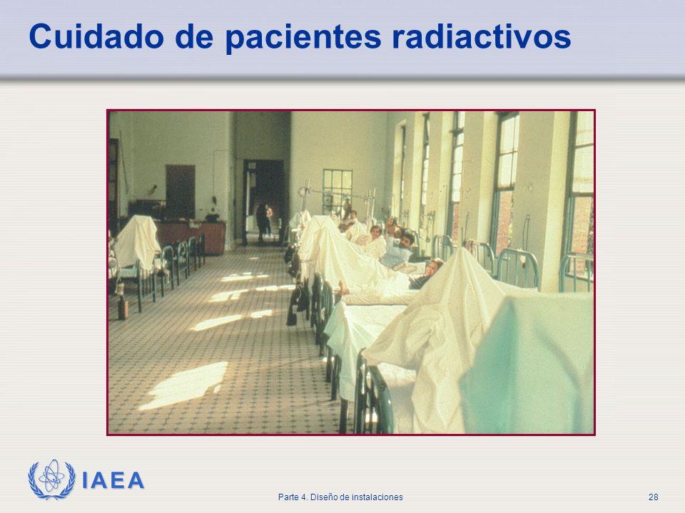 IAEA Parte 4. Diseño de instalaciones28 Cuidado de pacientes radiactivos