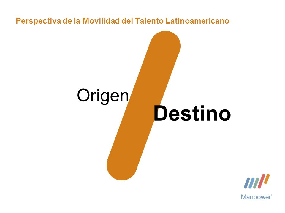 Perspectiva de la Movilidad del Talento Latinoamericano Origen Destino