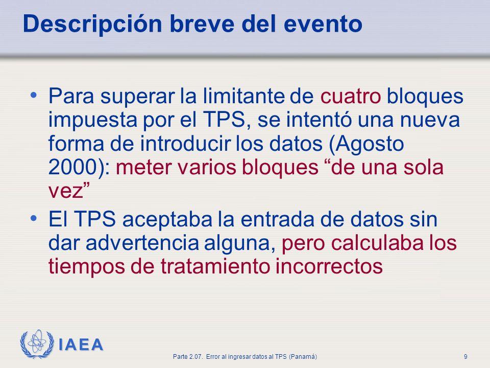 IAEA Parte 2.07.