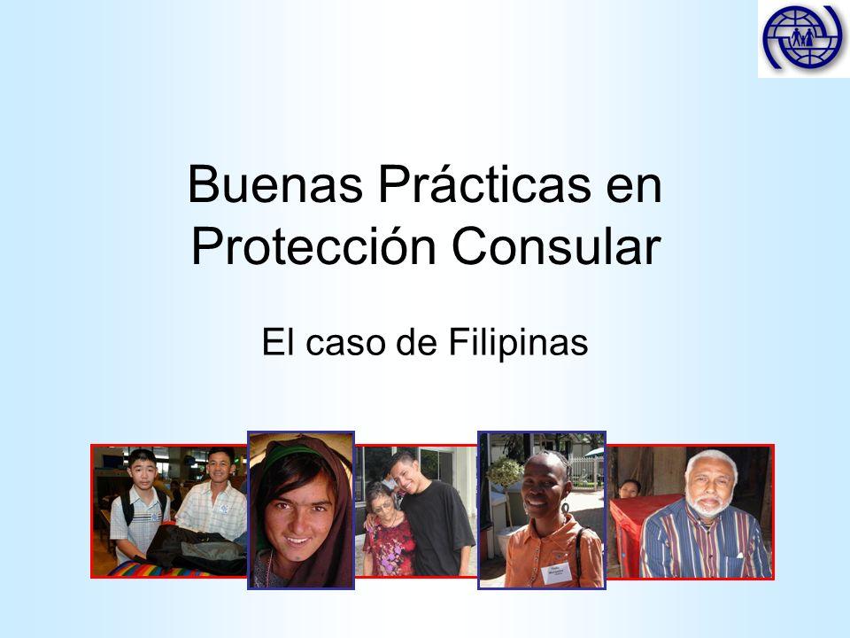 Buenas Prácticas en Protección Consular El caso de Filipinas