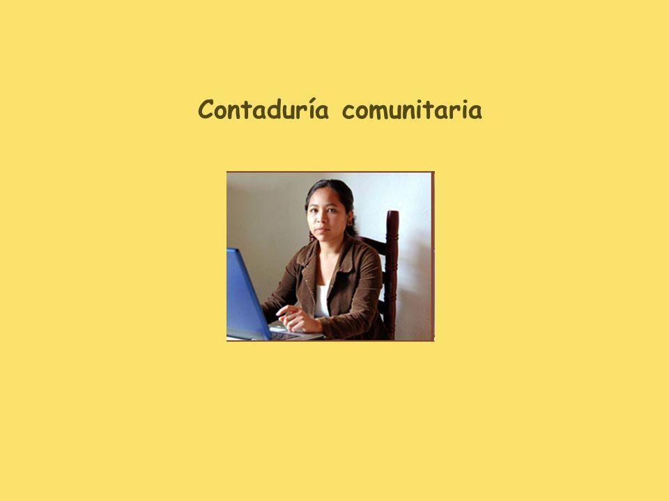 Contaduría comunitaria