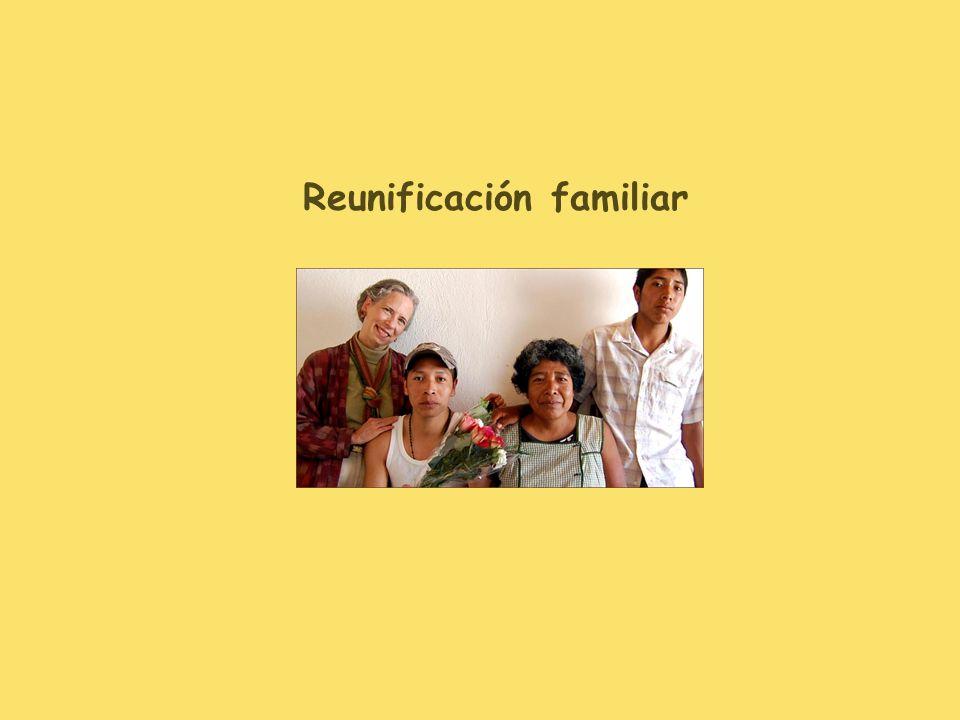 Reunificación familiar