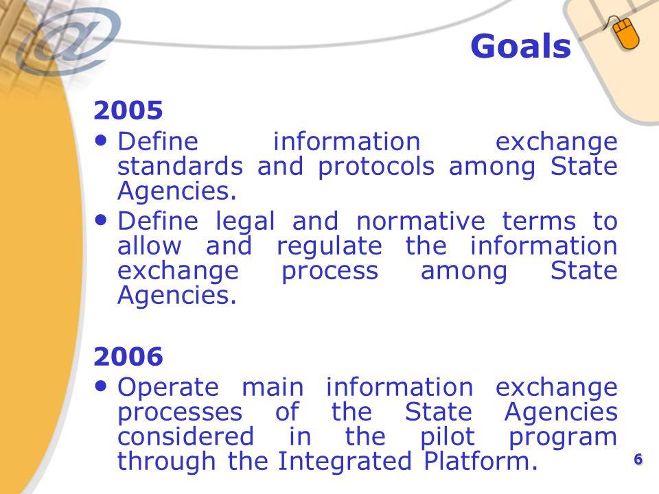 7 Problem to Solve: Optimize Data Interchange between Institutions SRCEI