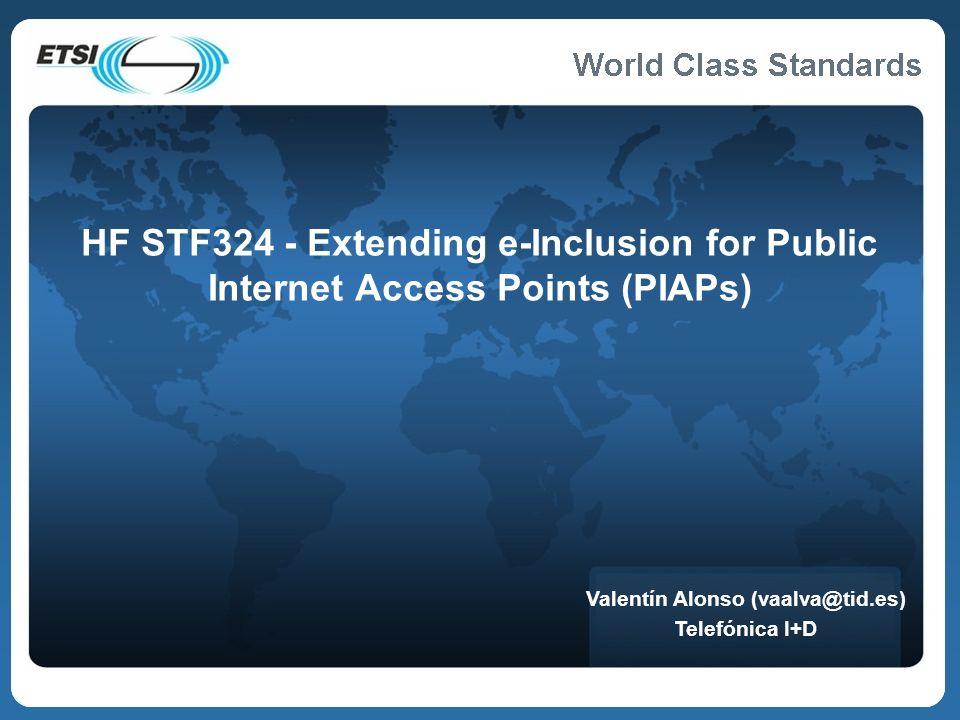 World Class Standards ¿Qué es ETSI.
