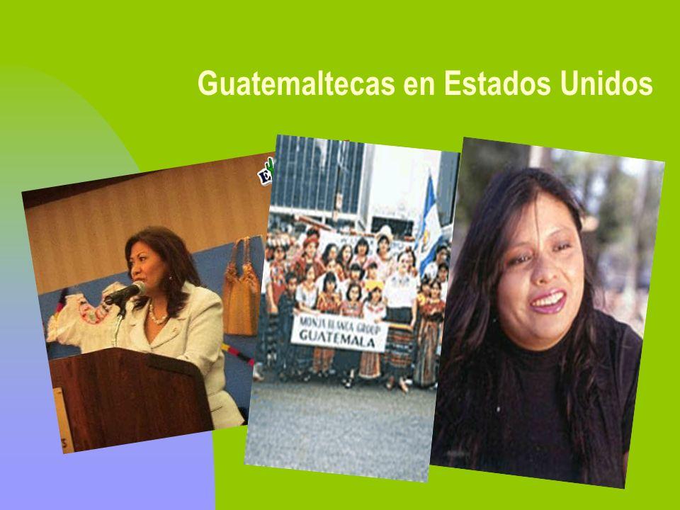 Guatemaltecas en Estados Unidos Norma Torres Julia Gabriel