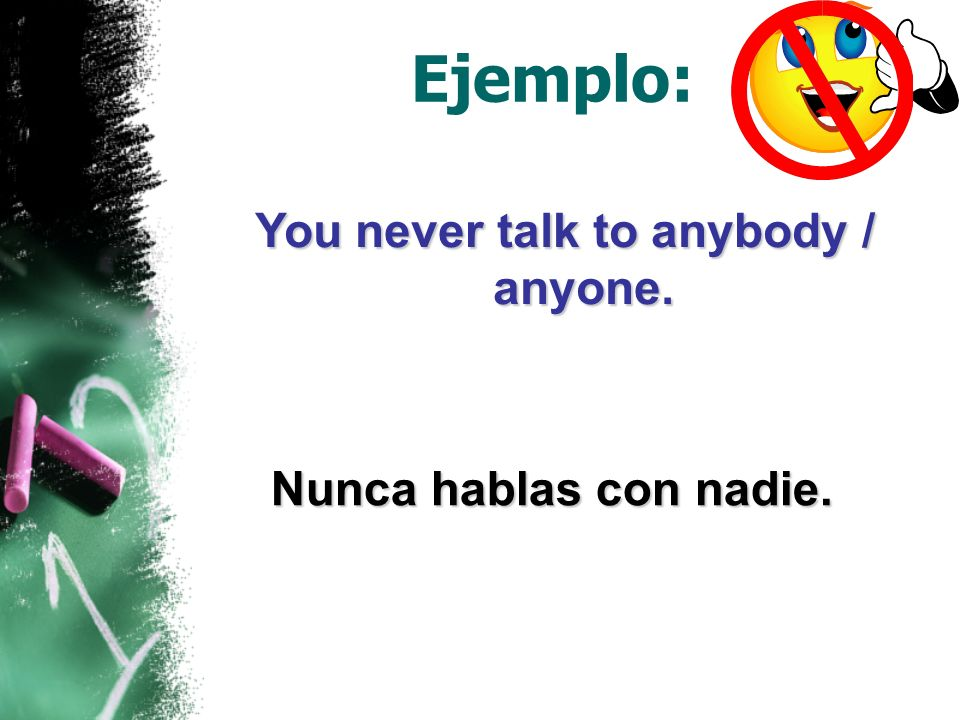 The double negative is not allowed in English, but it is perfectly acceptable in Spanish.