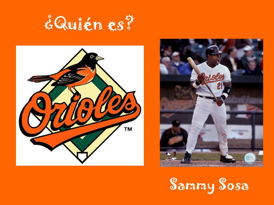 ¿Quién es? Sammy Sosa