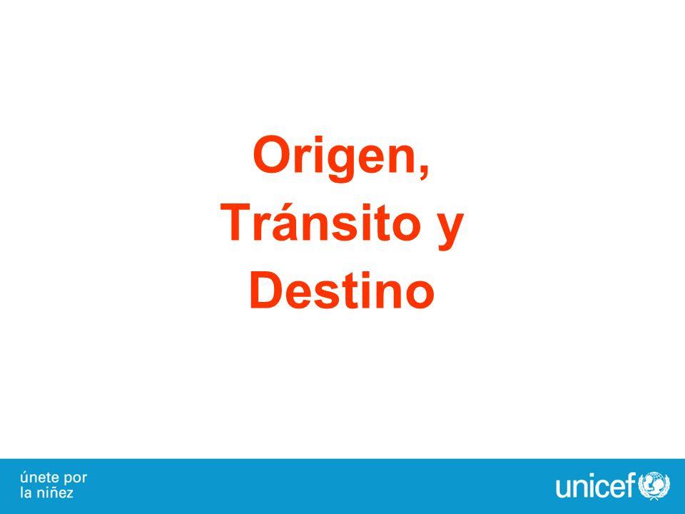 Origen, Tránsito y Destino