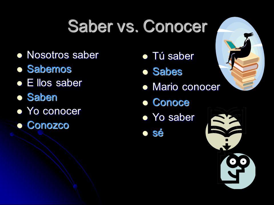 Saber vs.