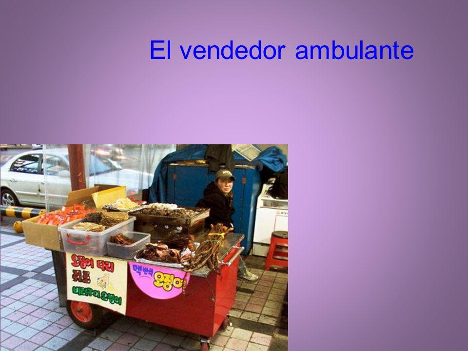 El vendedor ambulante