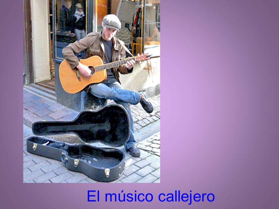 El músico callejero