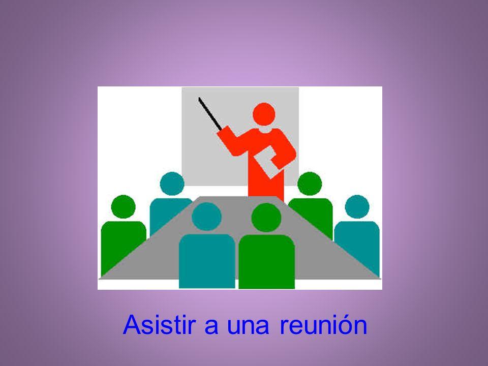 Asistir a una reunión