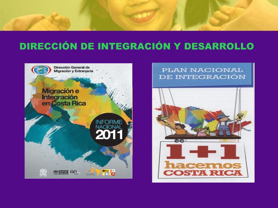 DIRECCIÓN DE INTEGRACIÓN Y DESARROLLO