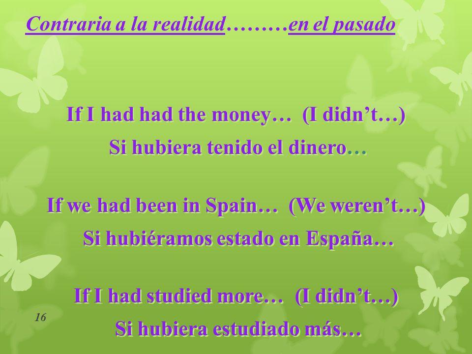 15 ¡Subjuntivo siempre! siempre! ¿Subjuntivo o indicativo? indicativo? Sin que Antes de que Con tal de que A menos que Para que En caso de que Solo qu