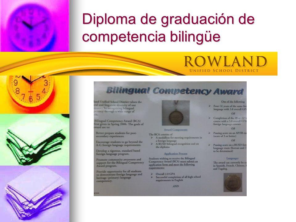 Cordón de honor para la graduación