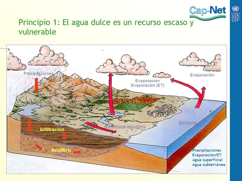 Para pensar ¿Se han adoptado algunos principios de la gestión de recursos hídricos en su país.