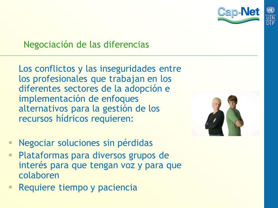 Negociación de las diferencias Los conflictos y las inseguridades entre los profesionales que trabajan en los diferentes sectores de la adopción e imp