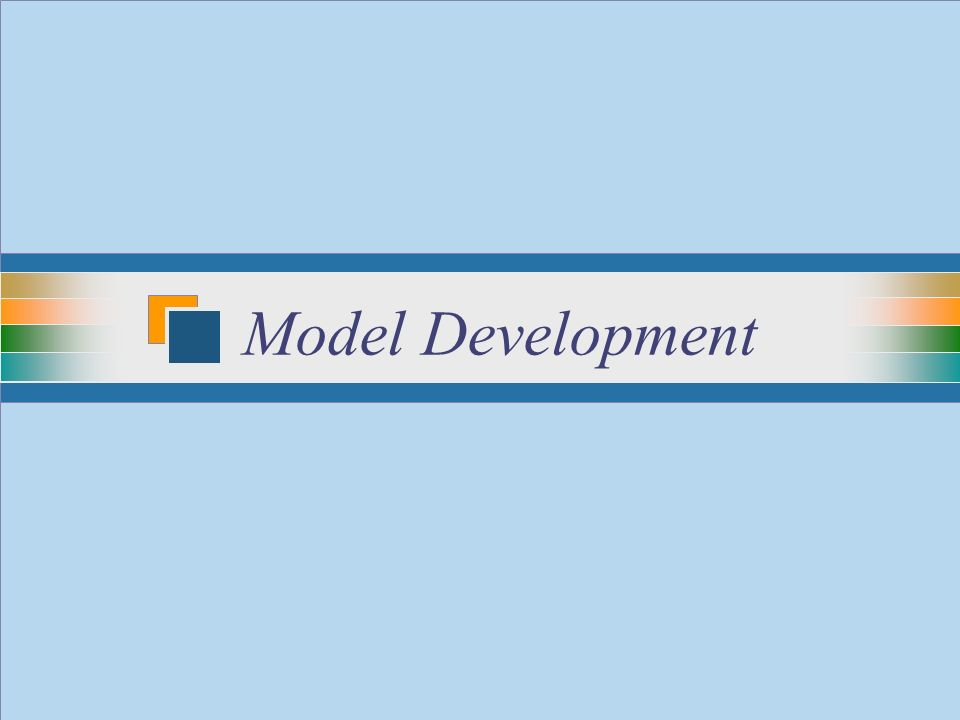 25 Model Development