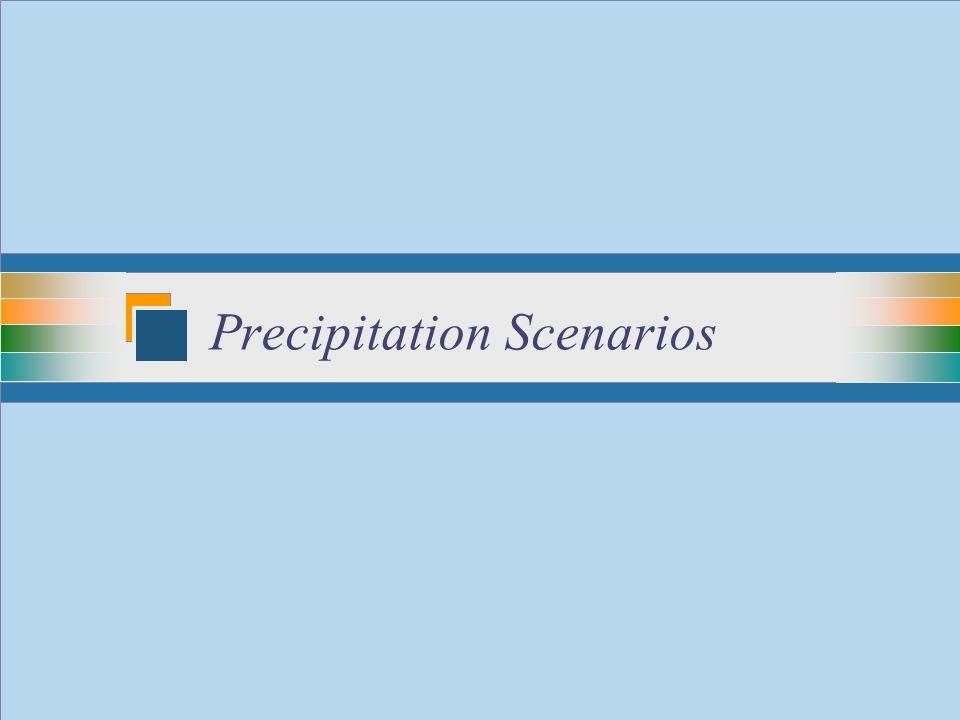 29 Precipitation Scenarios