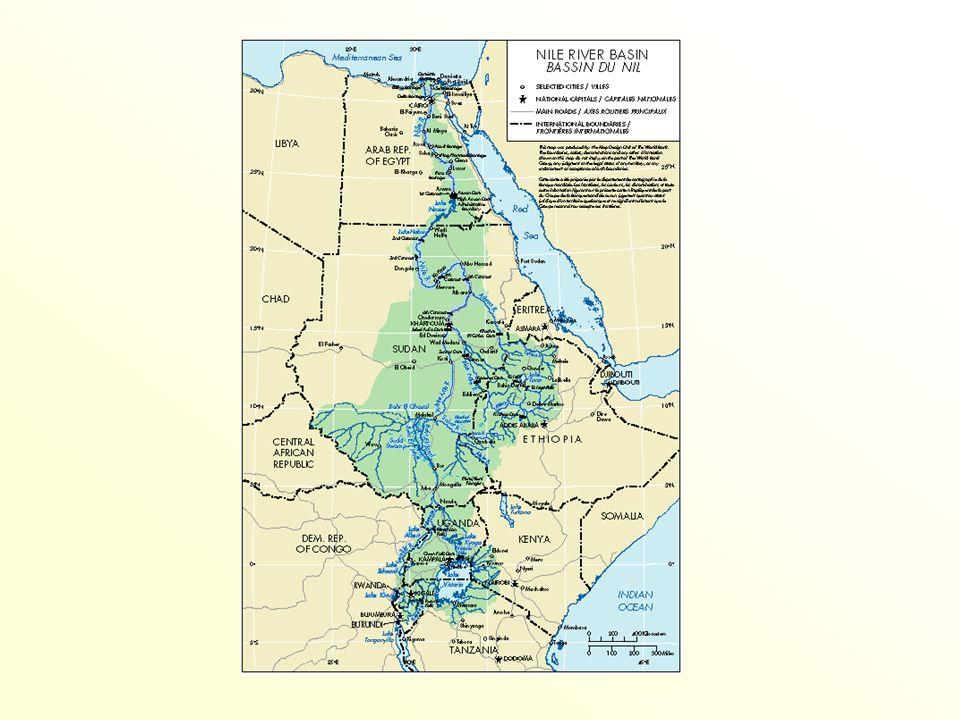 El protocolo anglo-italiano del 15 de abril de 1891 Objetivo: definir los reclamos territoriales de Gran Bretaña (Sudán y Egipto) e Italia en África Oriental Artículo III el gobierno italiano se compromete a no construir en el río Atbara, con fines de irrigación, cualquier obra que pudiera modificar notablemente el caudal que desemboca en el Nilo .