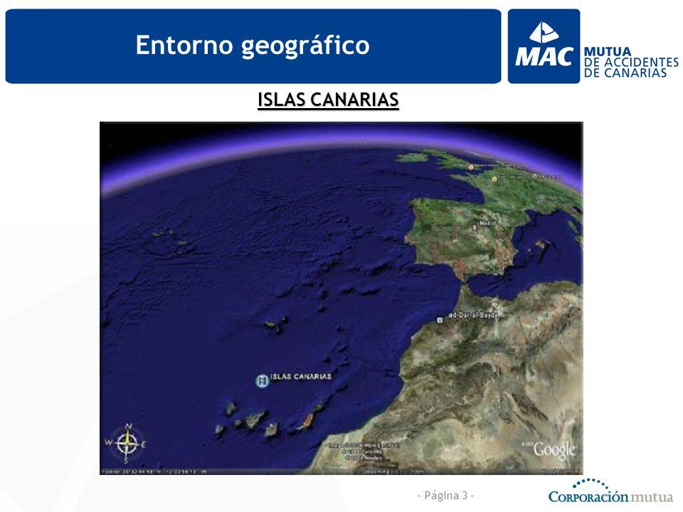 - Página 3 - Entorno geográfico ISLAS CANARIAS
