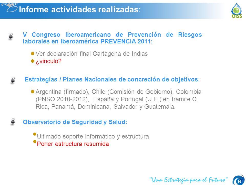 10 Ver declaración final Cartagena de Indias ¿vinculo.