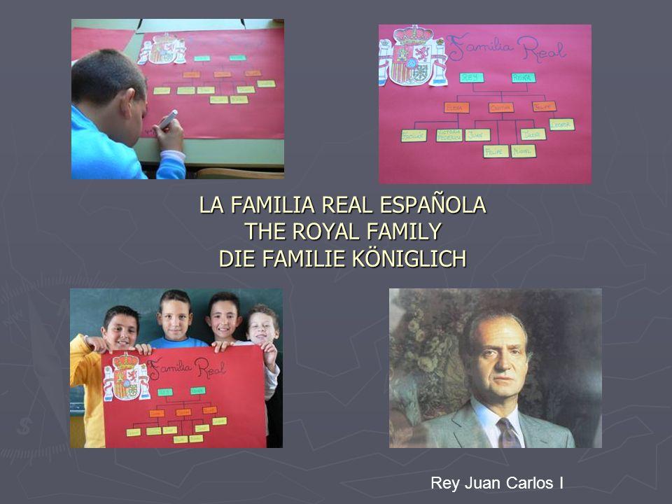 LA FAMILIA REAL ESPAÑOLA THE ROYAL FAMILY DIE FAMILIE KÖNIGLICH Rey Juan Carlos I