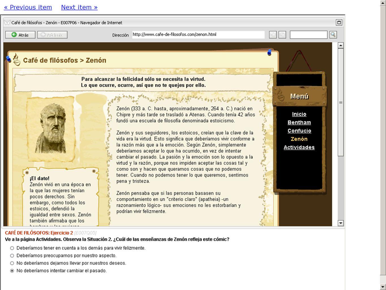 7 PISA - ERA AGENCIA ANDALUZA DE EVALUACIÓN EDUCATIVA PISA 2012 Sevilla. Febrero 2012 Más ejemplos de preguntas URL: http://erasq.acer.edu.au/ Usuario