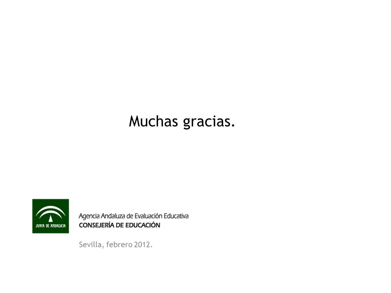 Sevilla, febrero 2012. Muchas gracias.