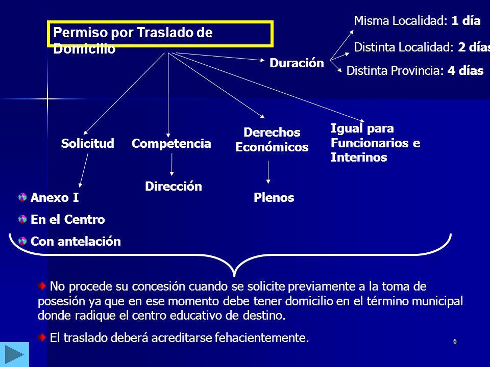 5 CIRCULAR DE 6 DE ABRIL DE 2005 – DGGRH – PERMISOS Y LICENCIAS II.LICENCIAS LICENCIA POR ENFERMEDAD O ACCIDENTE.