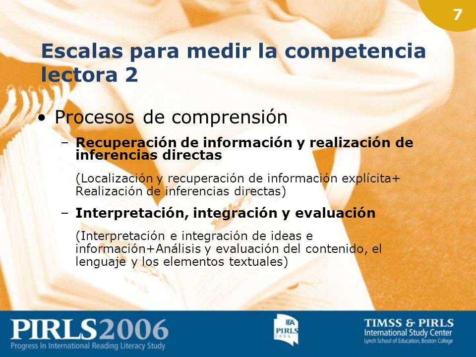 17 Calendario PIRLS 2006 Dic 20067ª Reunión NRC, Nueva Zelanda Revisión de los datos y planificación informes Jun 20078ª Reunión NRC, Quebec Revisión Borrador Informe Oct 2007Publicación de la Enciclopedia PIRLS 2006