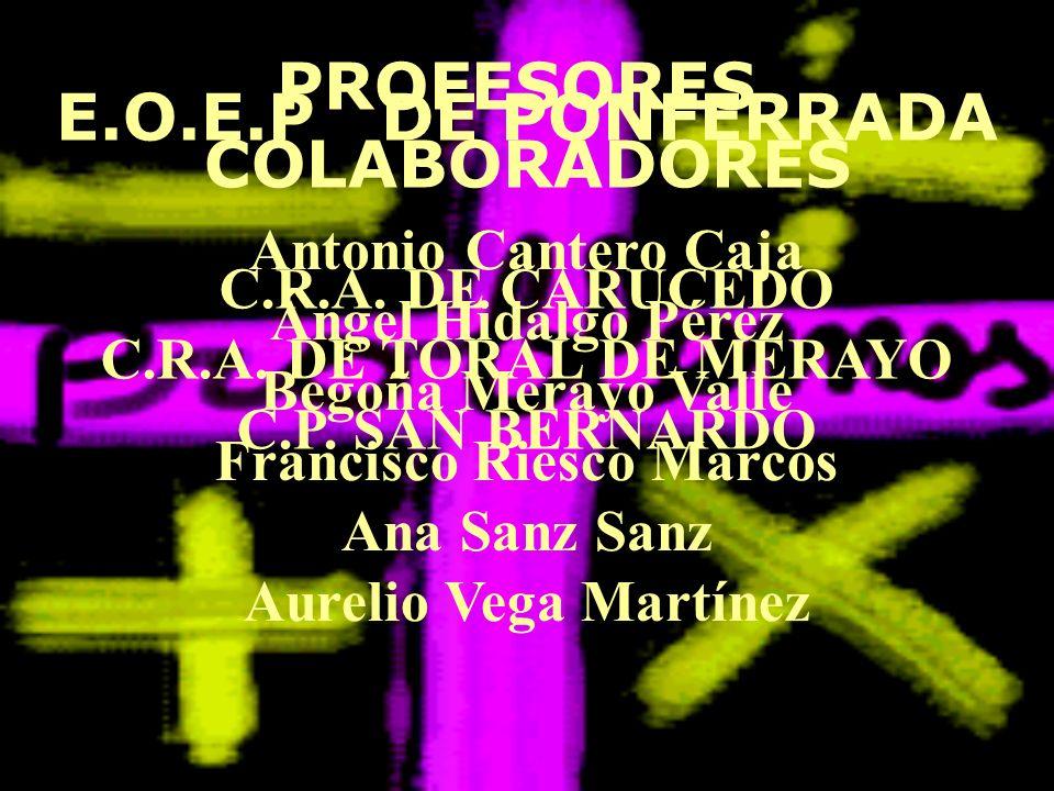 Antonio Cantero Caja Ángel Hidalgo Pérez Begoña Merayo Valle Francisco Riesco Marcos Ana Sanz Sanz Aurelio Vega Martínez C.R.A. DE CARUCEDO C.R.A. DE