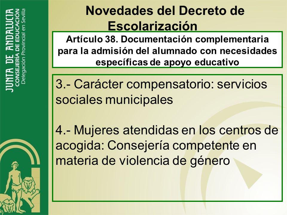 Artículo 35. Alumnado con necesidades específicas de apoyo educativo 2.- necesidades educativas especiales trastornos del desarrollo incorpore de form