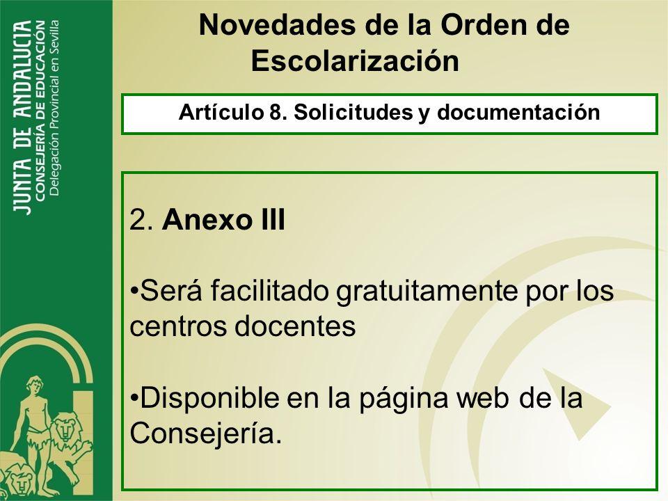 Artículo 47. Solicitudes 5.- Se tendrán en cuenta los centros subsidiarios de la solicitud (no hay solicitud de reubicación) 6.- Las solicitud fuera d