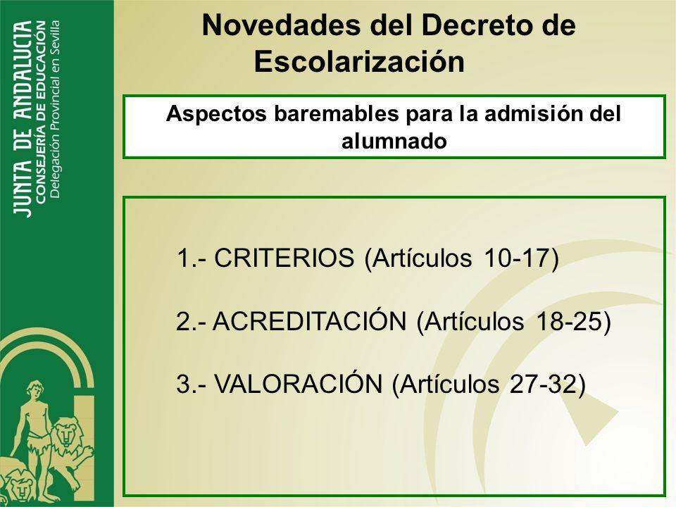 Artículo 7. Elección de centro docente, acceso y continuidad en el mismo Novedades del Decreto de Escolarización 4. Si resulta admitido en alguno de l