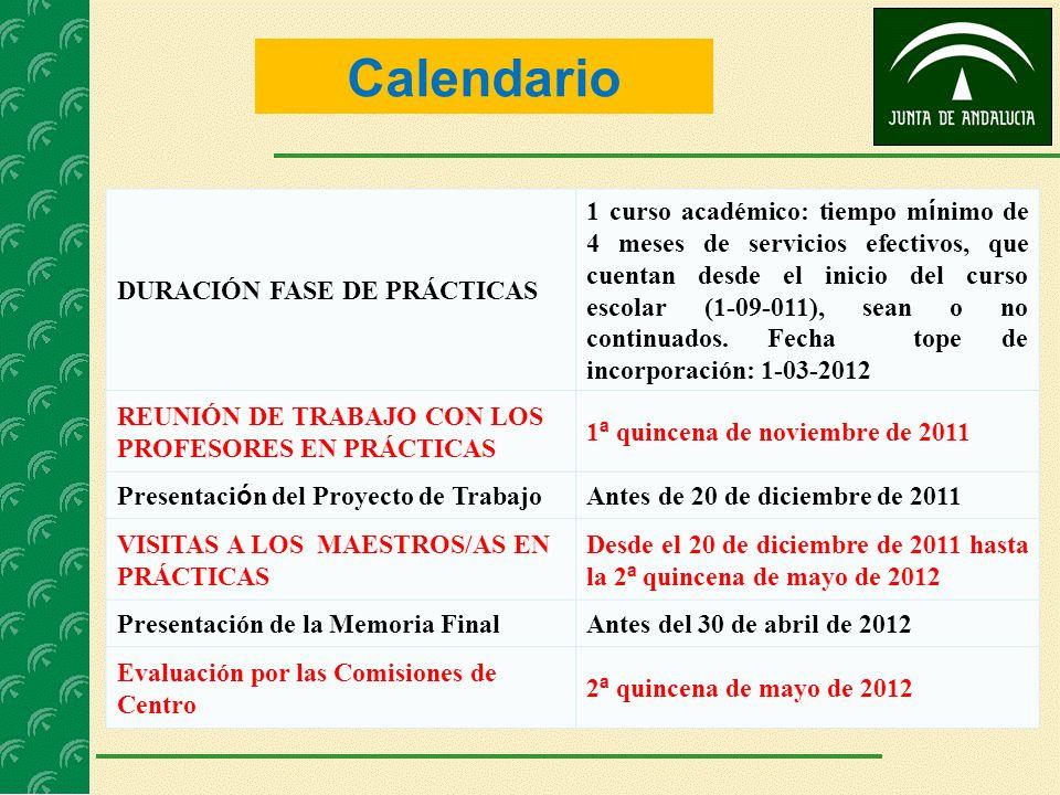 COMISIONES DE EVALUACIÓN DE CENTRO COMPOSICIÓN PRESIDENTEINSPECTOR/A DE REFERENCIA VOCALES DIRECTOR/A TUTORES DEL PROFESORADO EN PRÁCTICAS.