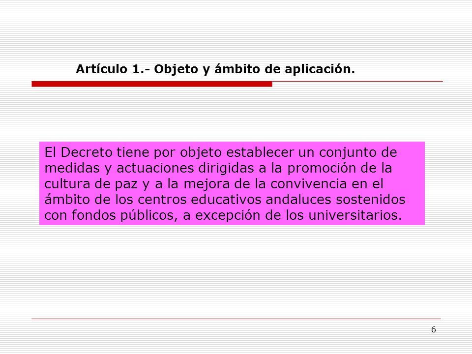 27 CAPÍTULO III CONDUCTAS GRAVEMENTE PERJUDICIALES PARA LA CONVIVENCIA Y SU CORRECCIÓN CONDUCTAS (Art.