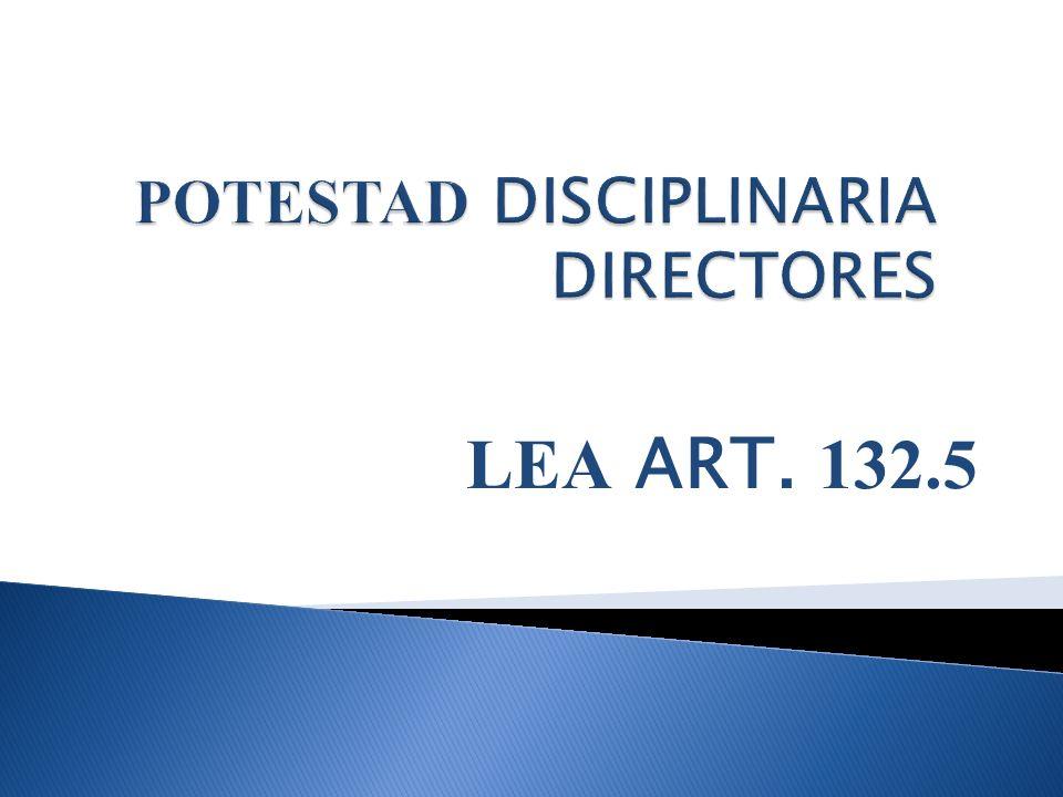 LEA ART. 132.5