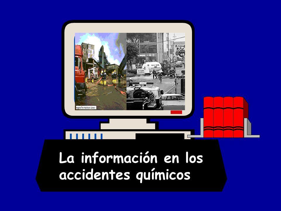 La información en los accidentes químicos