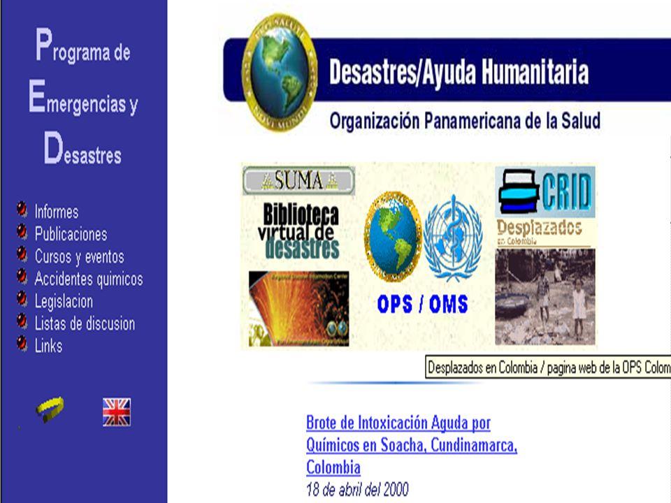 Tomadores de Decisión http://www.disaster.info.desastres.net/PED-Ecuador/desastre/index.html