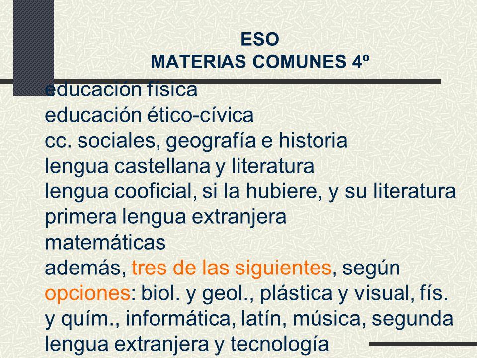 educación física educación ético-cívica cc.