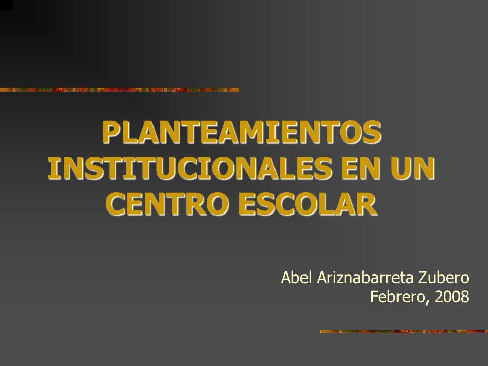 1.Programa anual de gestión de centro 1. Programa anual de gestión de centro LEPV, Art.